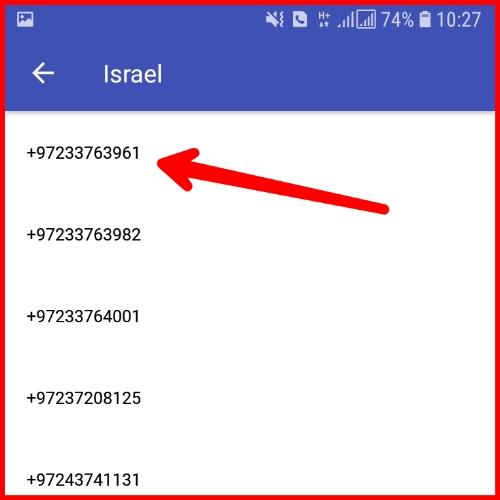 Cara dapat nomor luar negeri