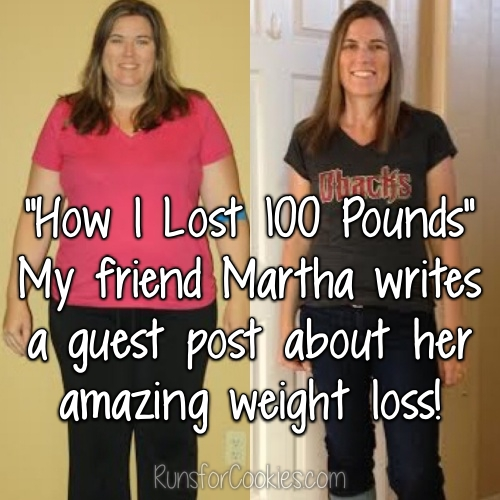 Martha lost 100 pounds