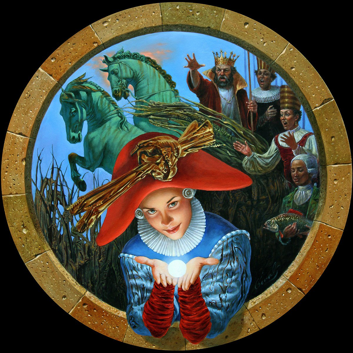 Michael Cheval The Essence of a dream
