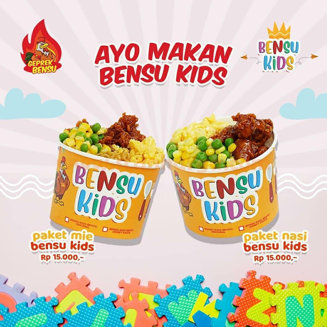 GEPREK BENSU Promo PAKET BENSU KIDS – Harga Spesial hanya Rp 15.000
