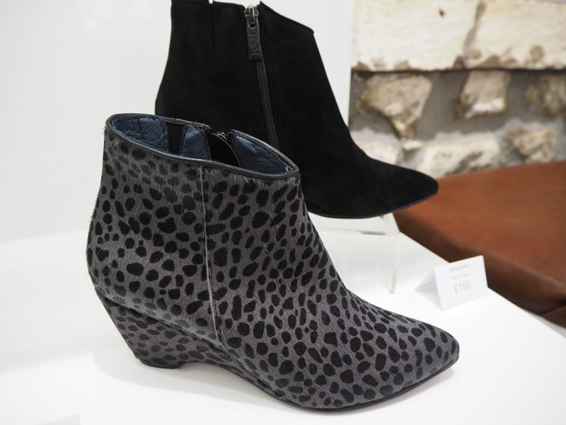 Mondrian Wedge Boot