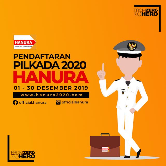 Target Partai Hanura Bangkit di Pilkada 2020