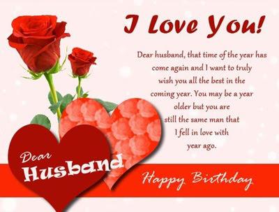 happy birthday husband wishes