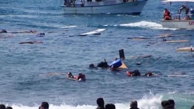 نواذيبو : غرق 30 مهاجرا في عرض البحرو ترحيل العشرات.-مصدر