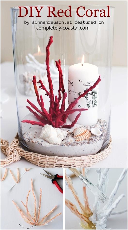 DIY Red Coral Figurine