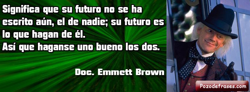 """Frases De Futuro: Futuro """"Volver Al Futuro 3"""""""