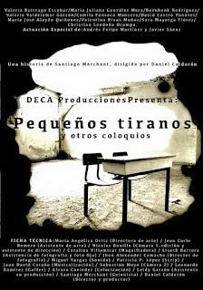 PEQUEÑOS TIRANOS Y OTROS COLOQUIOS | DECA TEATRO