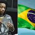 Wiz Khalifa já está no Brasil para show no Lollapalooza no final de semana