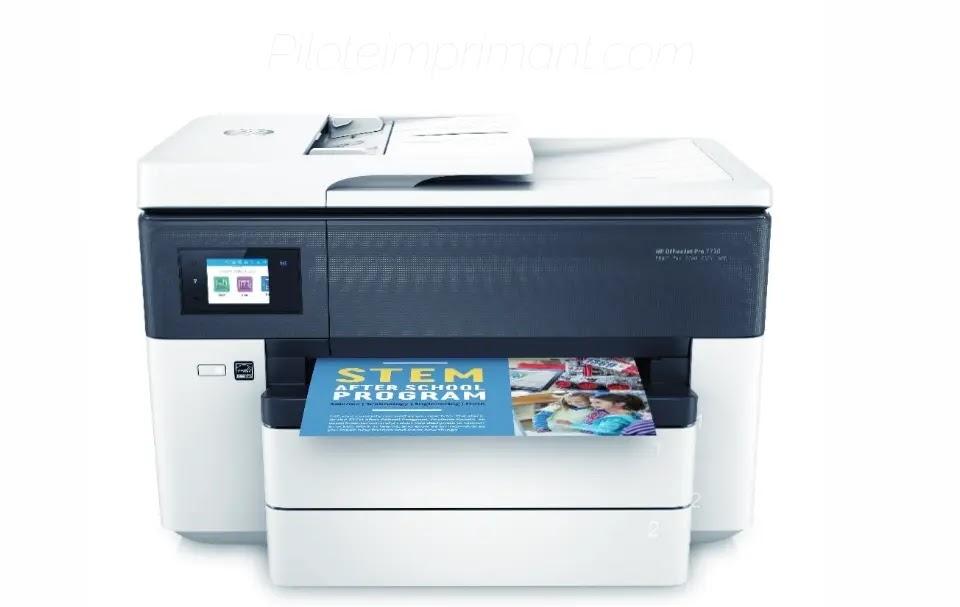 Pilote HP Officejet Pro 7720