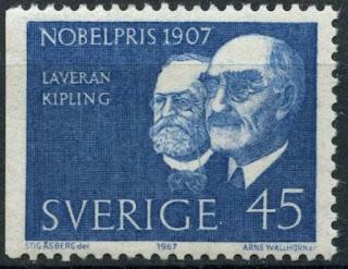 Sweden 1967 Nobel Prize Winners Laveran