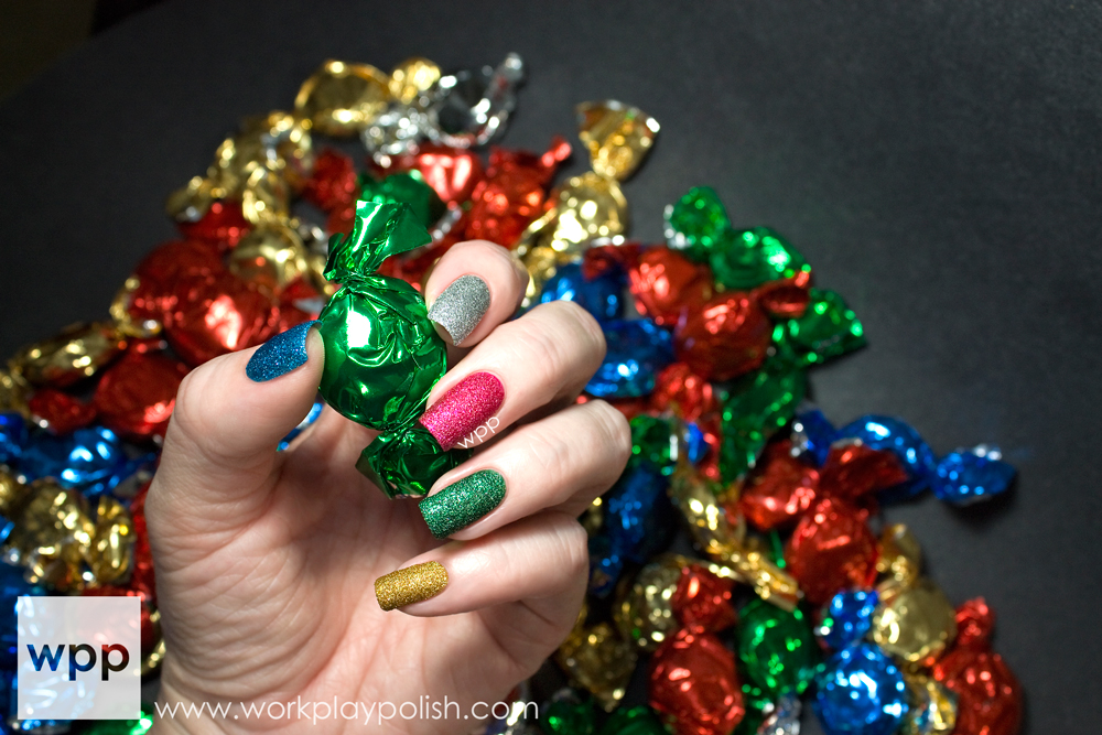 JulieG HOLIDAY Frosted Gum Drops Collection