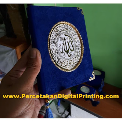 Contoh Contoh Desain BUKU YASIN Dari Percetakan Digital Printing Terdekat