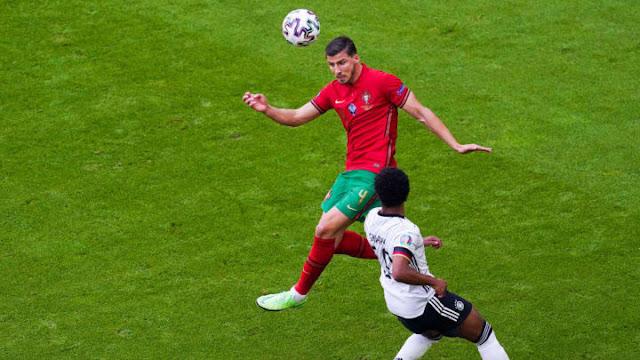 Ruben Dias scores own goal - Germany vs Portugal - Euro 2020