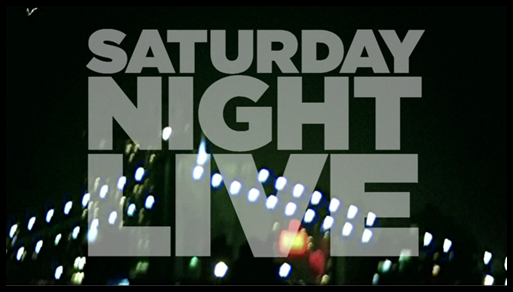 'Saturday Night Live' title card