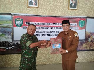 Komunikasi Sosial Bersama Aparat Pemerintah Tingkatkan Sinergitas TNI