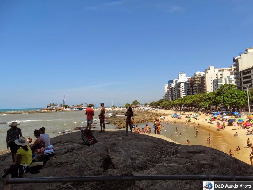 Praia dos Namorados - o que fazer em Guarapari - Espírito Santo
