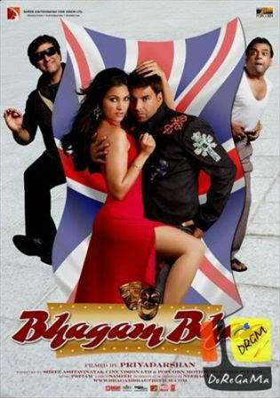Bhagam Bhag 2006 BluRay 450MB Hindi Movie 480p Watch Online Full Movie bolly4u