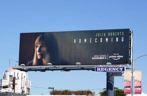 Homecoming series premiere billboard