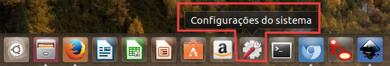 configuracao do teclado no ubuntu