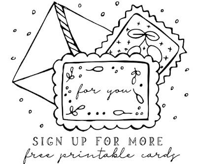 Free Greeting Card Printables
