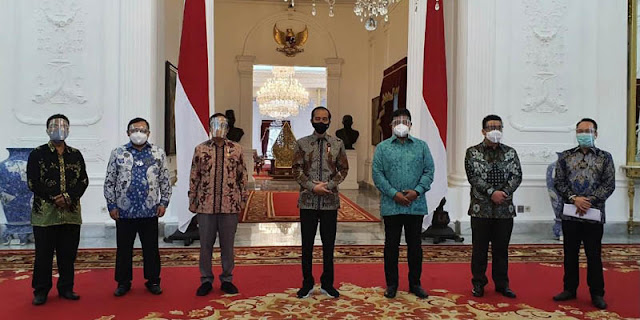 Bertemu Jokowi, Majelis Nasional KAHMI Sepakat Nilai Islam Dan Kebangsaan Terintegrasi