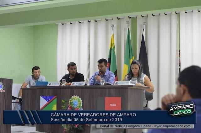 Confira o resumo da Sessão na Câmara de Vereadores de Amparo realizada na ultima quinta-feira