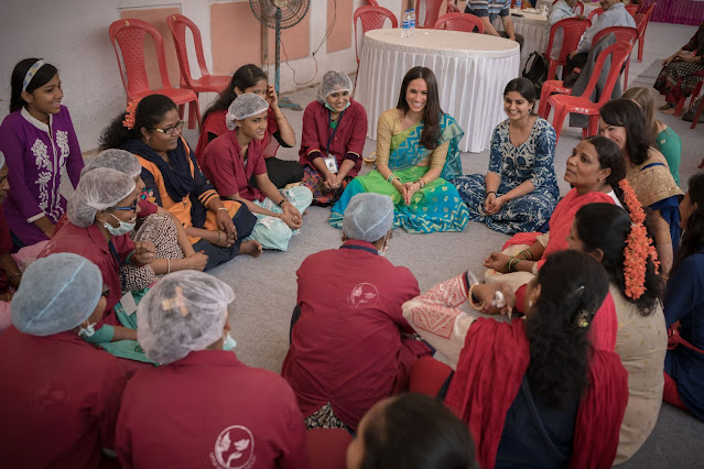 Indian Charity that Meghan has long supported is nominated for Global Prize