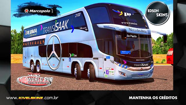 PARADISO G7 1800 DD 8X2 - VIAÇÃO TRANS ISSAK