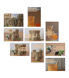 sovenir sedotan bambu