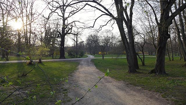 Spaziergang in Leipzig im Palmgarten