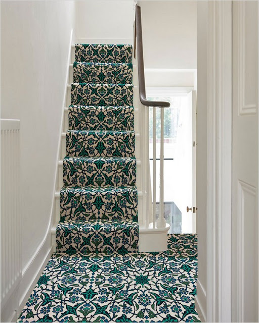 trendy stair carpet runners