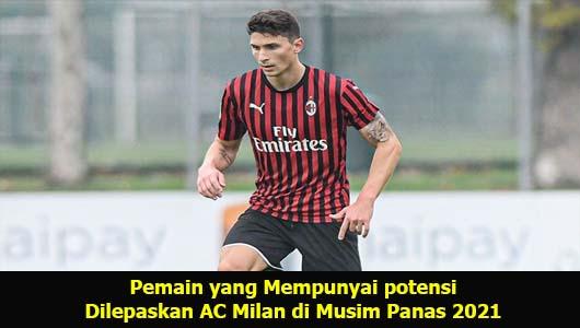 Pemain yang Mempunyai potensi Dilepaskan AC Milan di Musim Panas 2021