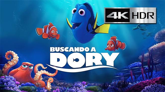 Buscando a Dory (2016) 4K UHD [HDR] Latino-Castellano-Ingles