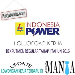 Lowongan Kerja Terbaru PT Indonesia Power 2016