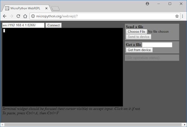 MicroPython WebREPL