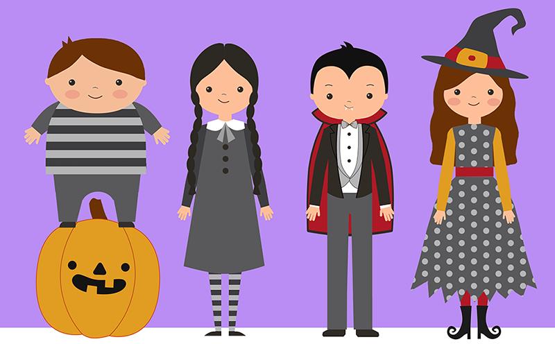Dibujos digitales Halloween
