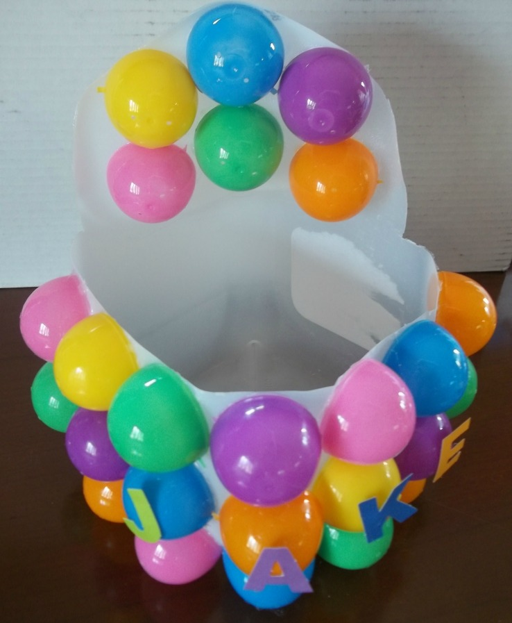 How To Make An Easter Basket From A Milk Jug