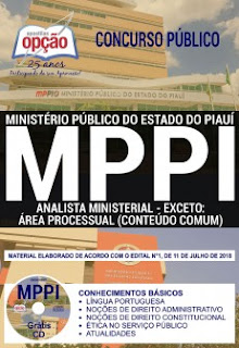 Download Apostila Concurso MP PI 2018 PDF