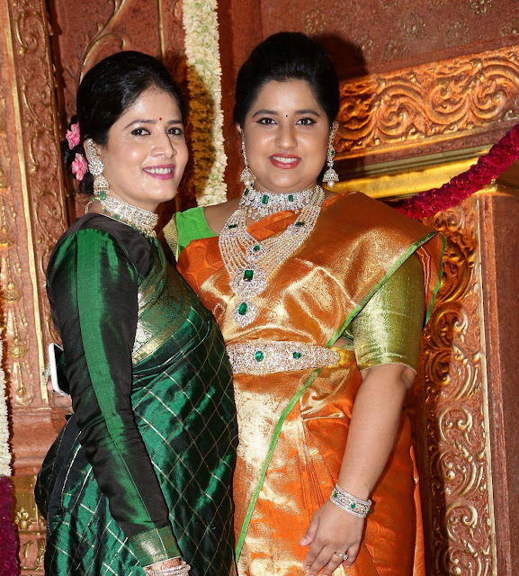 Hanshitha in Diamond Bridal Jewellery