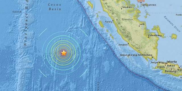 Gempa Mengguncang Sumatera