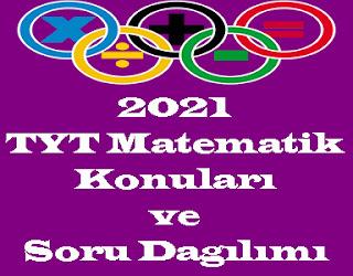 2021 TYT Matematik Konuları