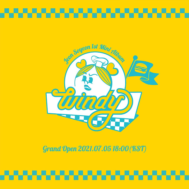 Jeon Soyeon 전소연, de (G)I-DLE (여자)아이들, vuelve con WINDY
