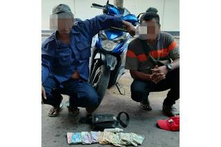 Sedang Asik Panen Uang Saat Acara Hultah NWDI, Kang Odong-odong Diringkus Polisi
