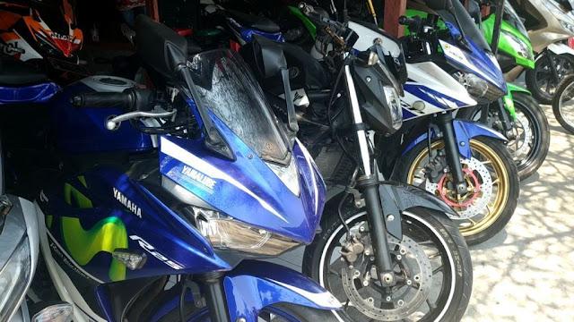 Harga Motor Bekas Yamaha MT 25 dan Yamaha R 25 di Semarang.