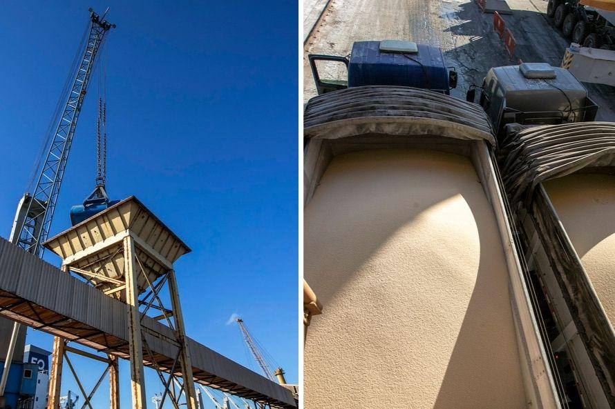 Porto de Paranaguá realiza operação simultânea de descarga de fertilizantes