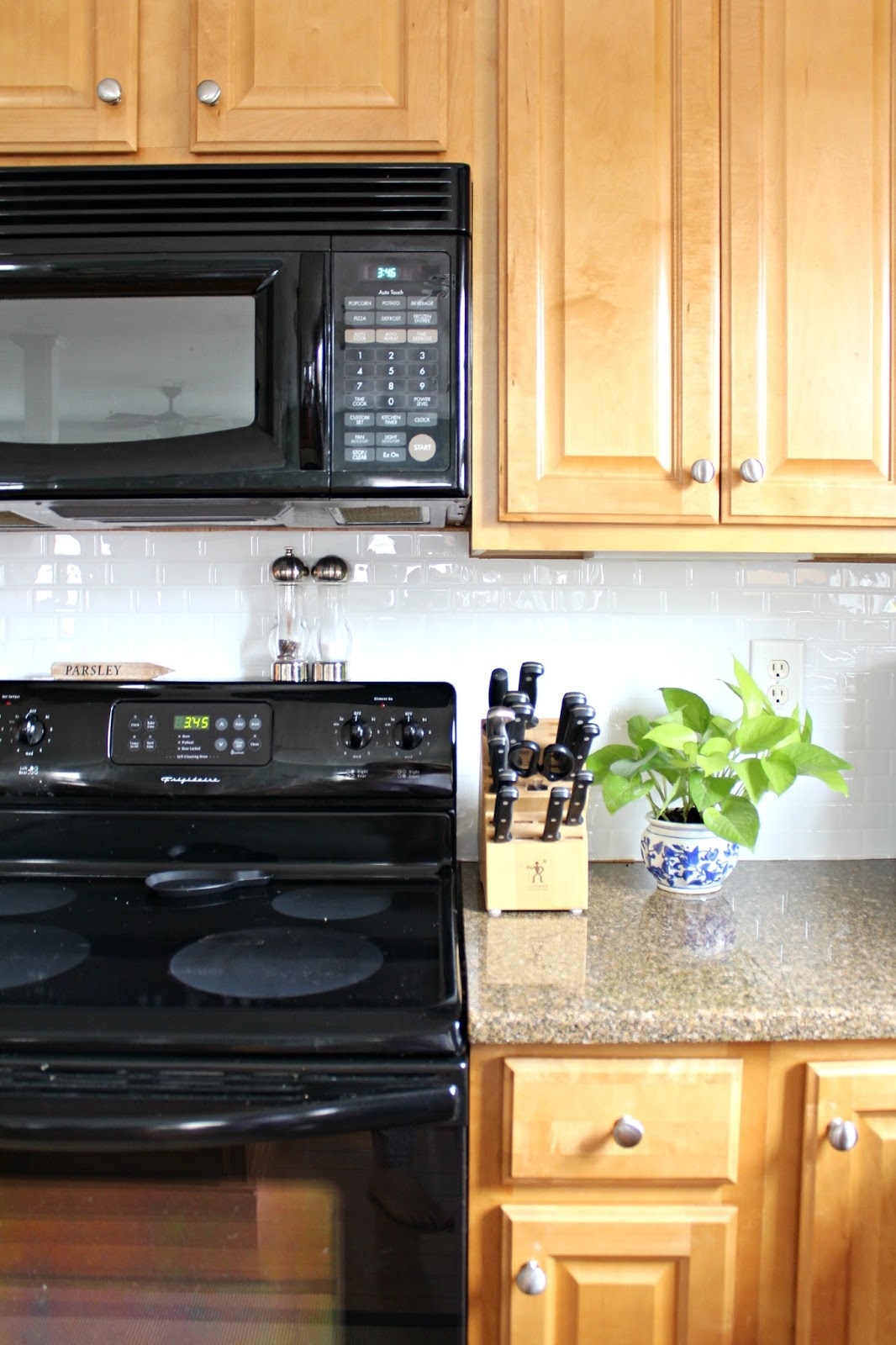 Ten June How To Update A Rental Kitchen With Peel Stick