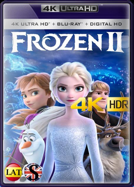 Frozen 2 (2019) 4K UHD HDR LATINO/INGLES