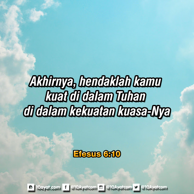 Efesus 6:10