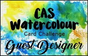 CAS Watercolour Guest Designer