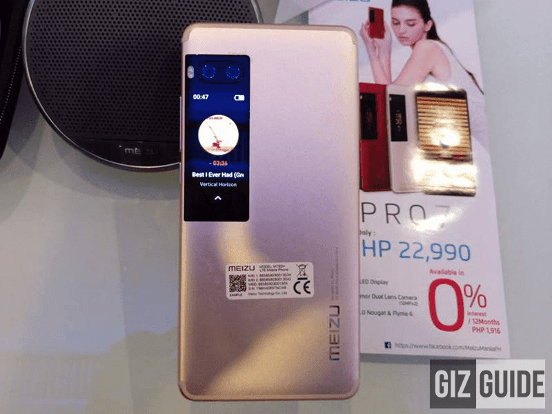 Meizu Launches Pro 7 And Pro 7 Plus In PH, Starts At PHP 22990